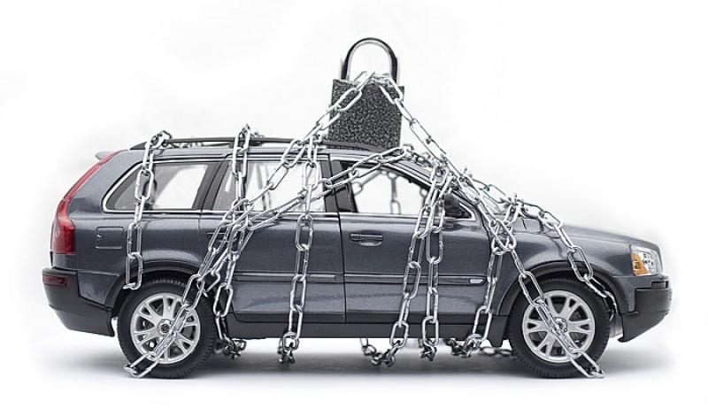 охрана машины